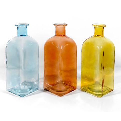 Butelka winston w trzech kolorach