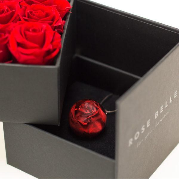 Kompozycja Duo Box + Naszyjnik Rose Belle