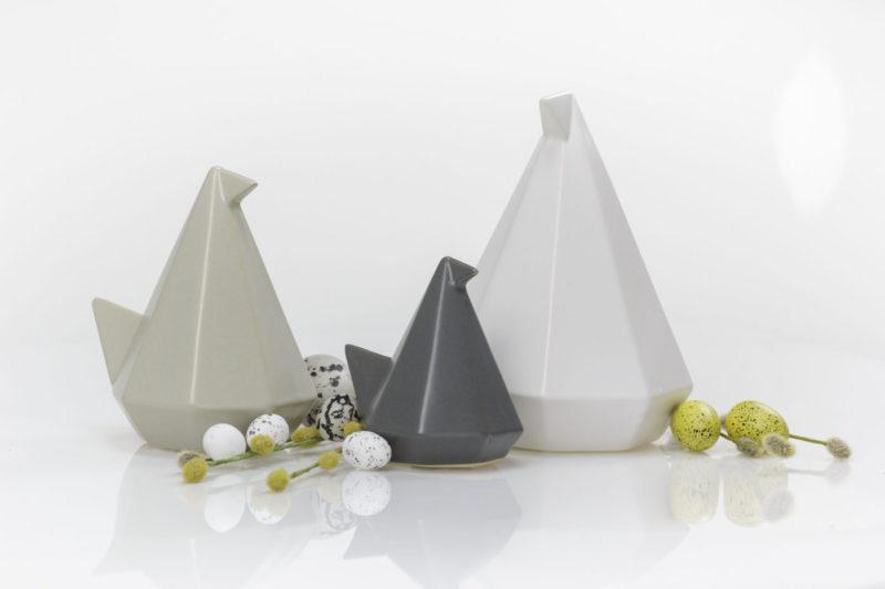 Ptaki ceramiczne - zestaw