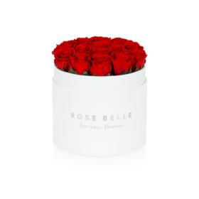 Rose Belle Box flokowany