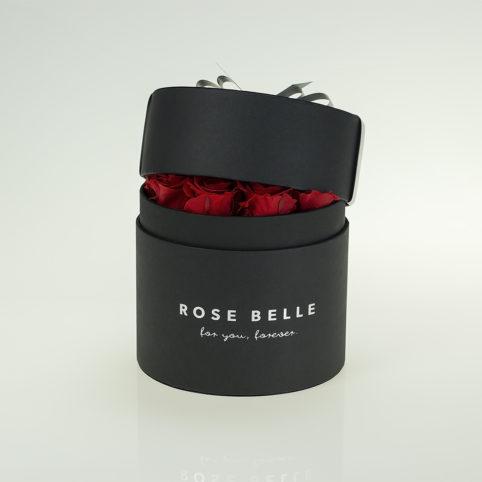 Róże stabilizowane w pięknym boxie
