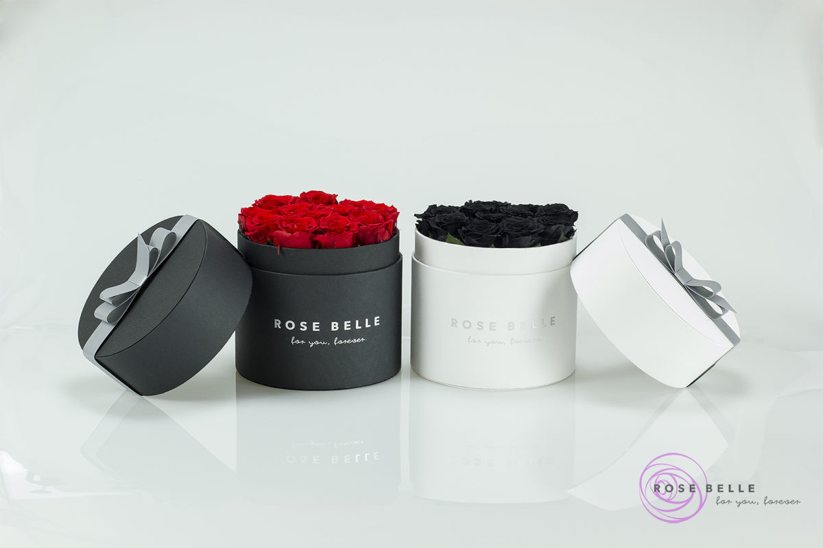 Kwiaty w boxach idealne na prezent dla najbliższej osoby