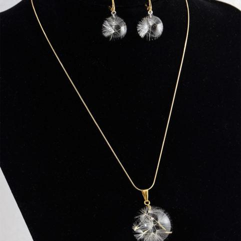 Idealnie prezentująca się biżuteria artystyczna Rose Belle